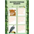 Antoni's deforestation debate