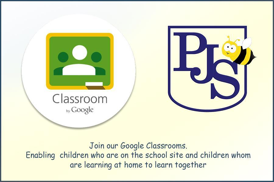 Help your child join our google classroom