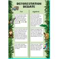 Oskar's deforestation debate