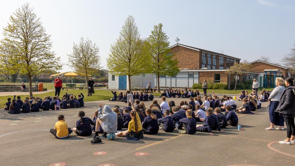 Assembly outside