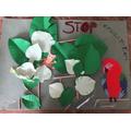 Lois' deforestation poster