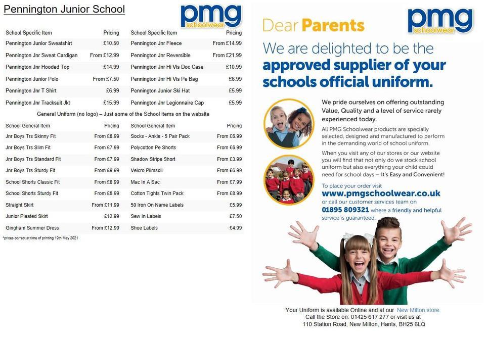 PMG Costs