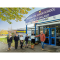 Lymington Lions Present £500 to Pennington Junior School