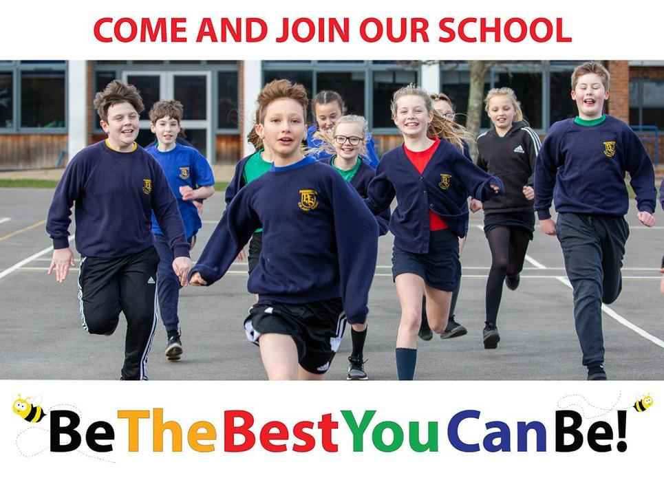 Join our School and aim to be the best you can be