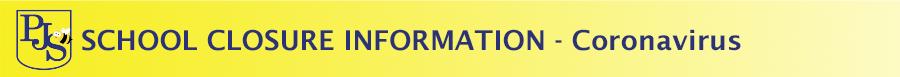 School Closure Information - Coronavirus