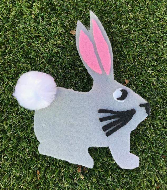 Roxie Rabbit is cooperative & works well in groups