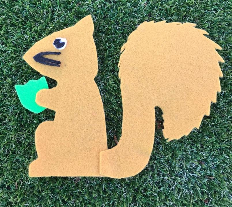 Sammie Squirrel is Resilient and never gives up!