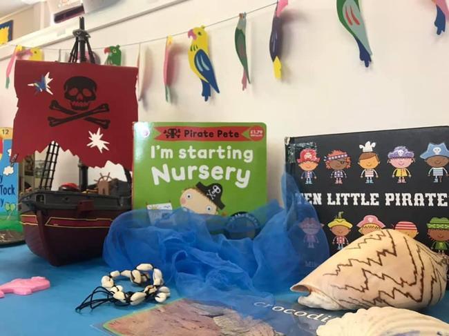 Pirate and mermaid topic!