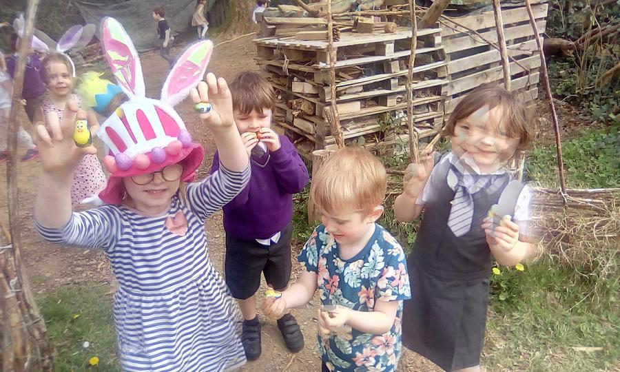 Our Easter Egg hunt was lots of fun!