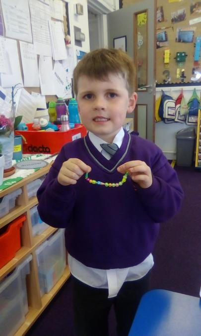 I have made a superworm with 14 beads!