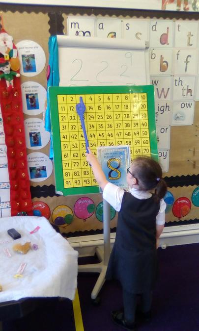 Counting from 0-20 and back to 0