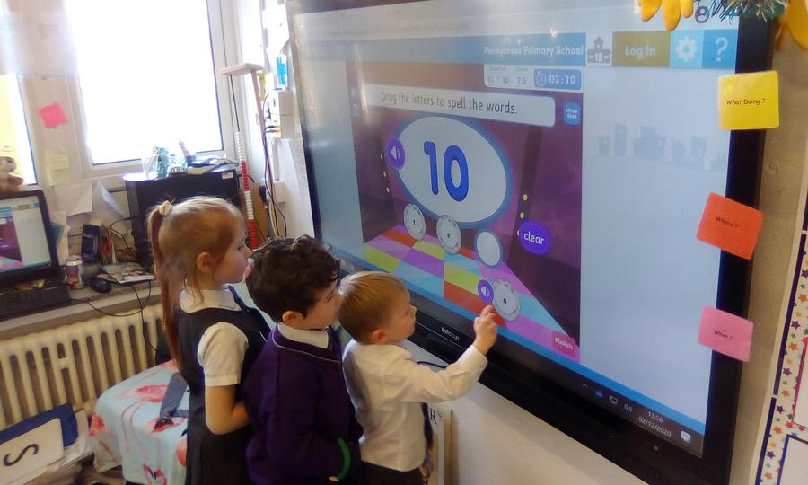 1:1 correspondence and number recognition