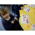 Learning to write Chinese characters