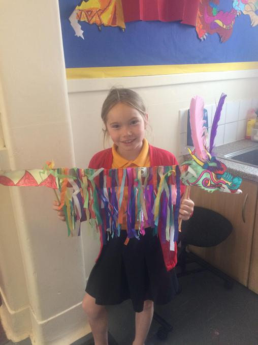 Well done Connie... fantastic Chinese Dragon!