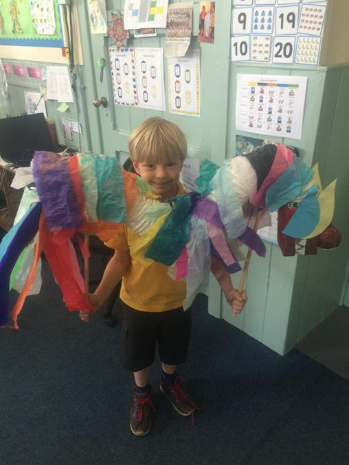 Well done Harry, fab Chinese Dragon!