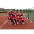 Our Year 3/4 Tennis Team... 1st and 3rd place yay!
