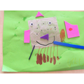A jellyfish with 8 legs and one armband!