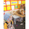 Lots of fun in the role play area