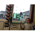 Year 2 had some painting on their window!