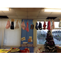 Nursery class had a washing line of underwear!