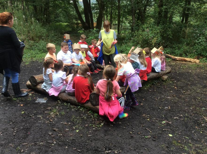 We love Forest School.