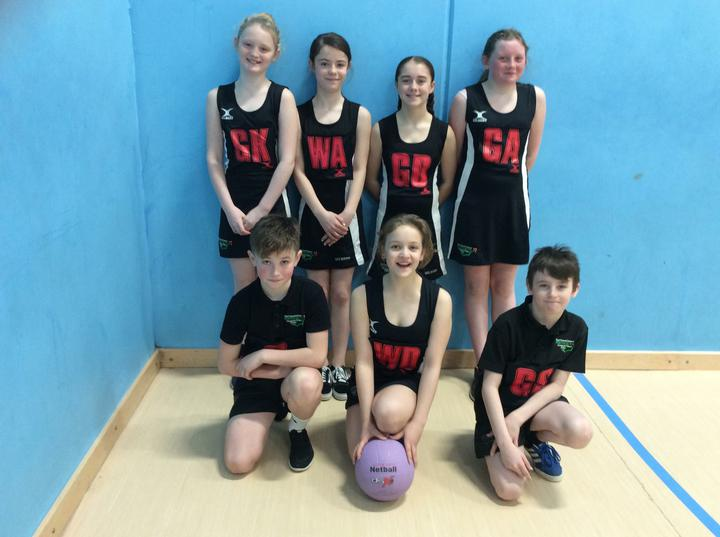 Big Well Done to the Perthcelyn 1 netball team today coming 2nd!!