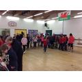 Parents and pupils enjoyed sharing work.