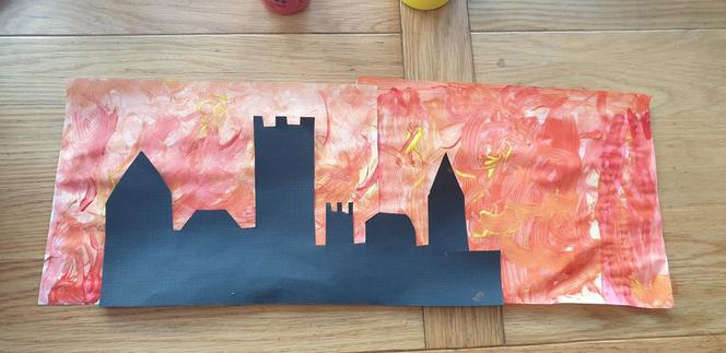The Great Fire of London by Claudia