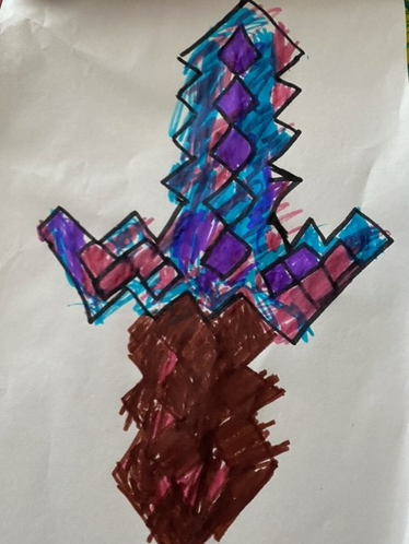 Kealan's minecraft sword
