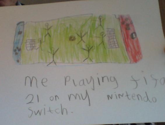 Lewis's Nintendo Switch