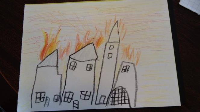 The Great Fire of London by Daniel