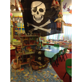 In our role play we pretend to be pirates.