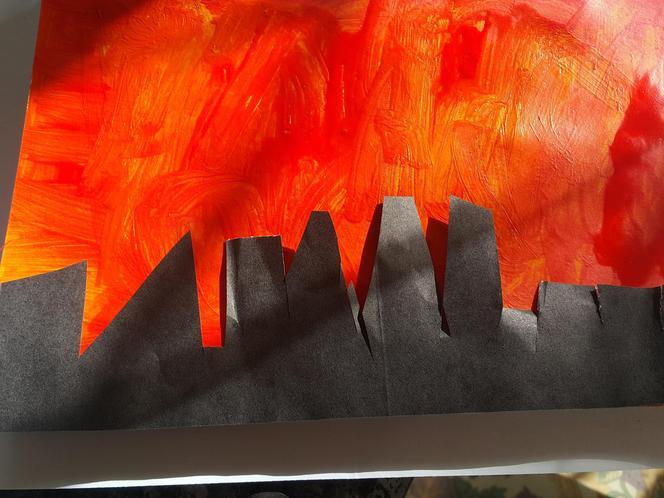 The Great Fire of London by Killian
