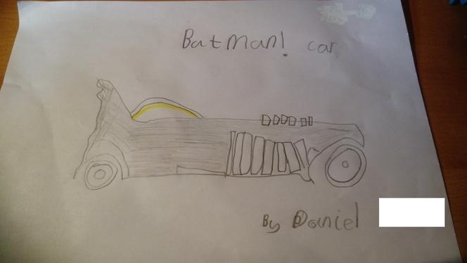Daniel's Batman Car
