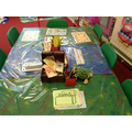 We are using describing words for our treasure.