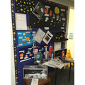 Some of the Home Learning we did over Summer on Space!