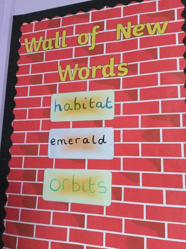 Our New Vocabulary