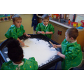 "Gloop, is it solid or liquid? ""it's Sticky"""