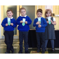 Well done for learning your high frequency words!