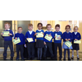 Well done for learning your numberbonds!