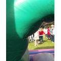 KS2 inflatable assult course