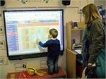 We are exploring the ICT resources in the nursery!