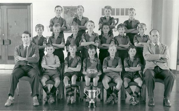 Peter Lea Football Team 1958