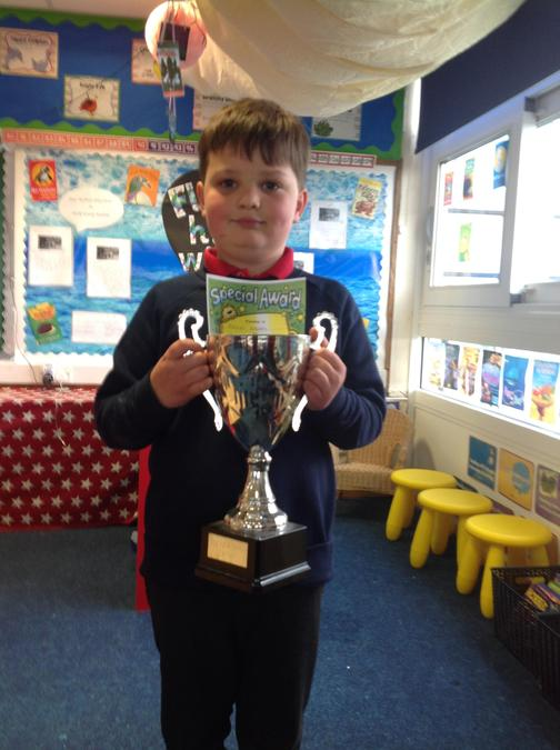 Well done Xavier for being a fantastic role model!