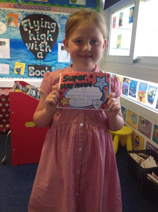Super learning attitude this week Daisie!