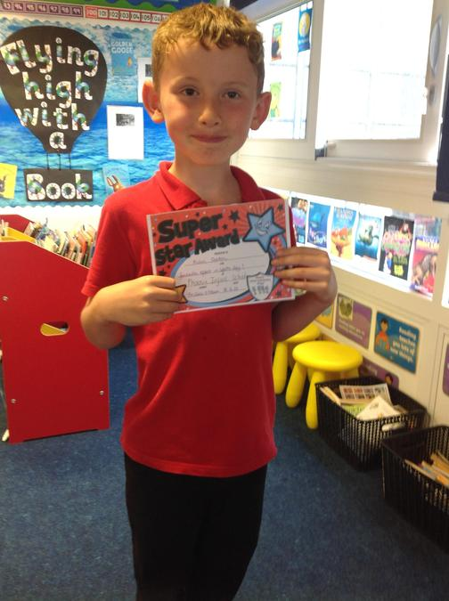 Well done for your super skipping skills Kian!
