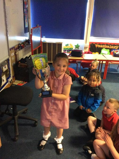Great work in phonics and maths this week Ava, well done!