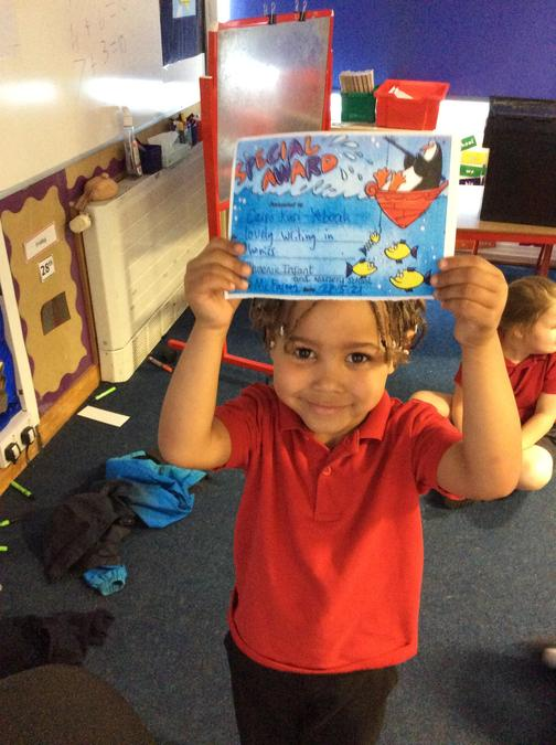 You are really trying hard with your writing in phonics. Well done!