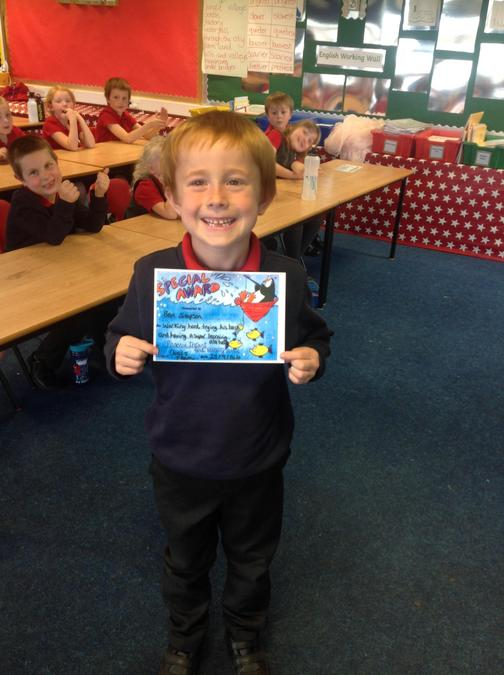 Well done Ben for your brilliant attitude towards your learning,always trying your best!