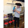 Beaky the parrot